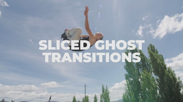 Sliced Ghost Transitions: Premiere Pro Presets