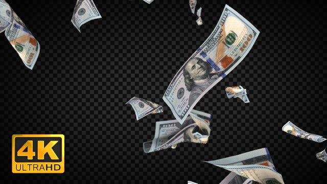 Raining Cash: Stock Motion Graphics