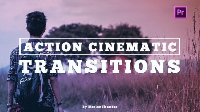 Action Cinematic Transitions: Premiere Pro Presets