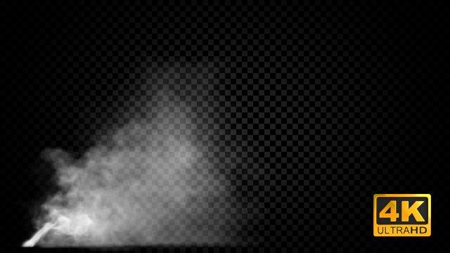 Emission Of Smoke: Stock Motion Graphics