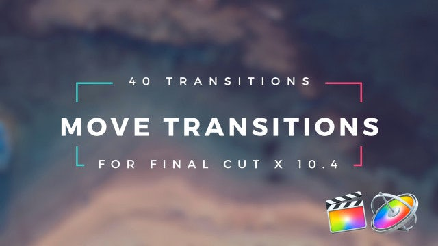 Move Transitions: Final Cut Pro Templates