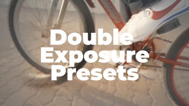 Double Exposure Presets: Premiere Pro Presets