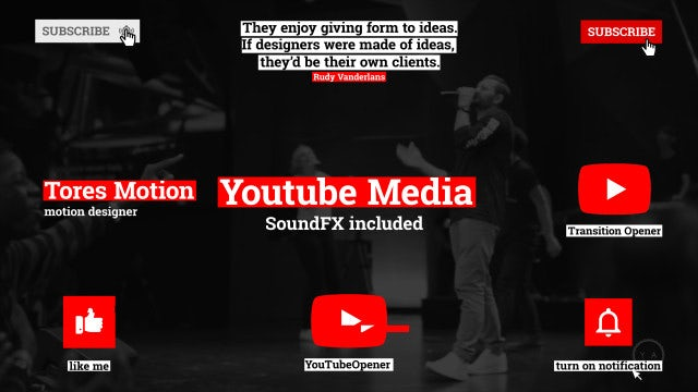 YouTube Media: After Effects Templates