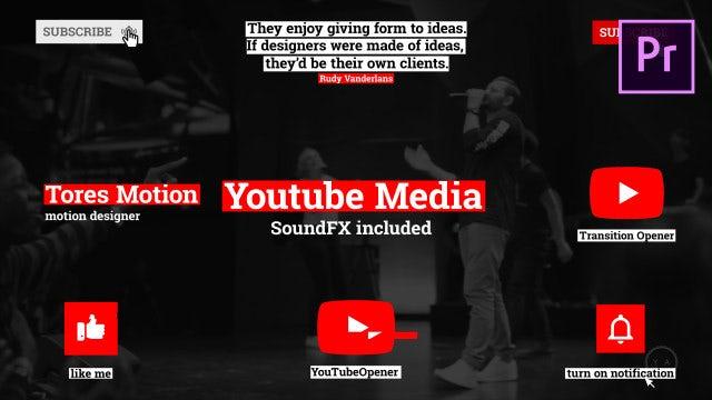 YouTube Media: Motion Graphics Templates