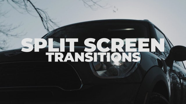 Split Screen Transitions: Premiere Pro Presets