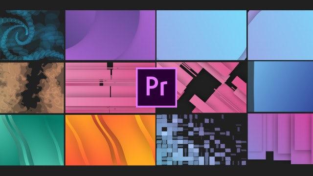 Trendy Shape Transitions V2: Motion Graphics Templates
