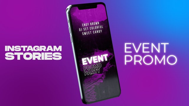 Instagram Stories Event Promo: After Effects Templates