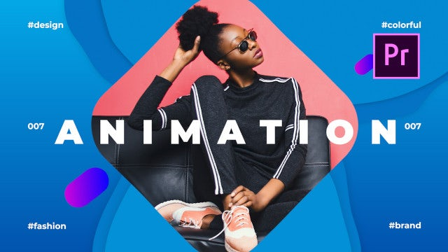 Liqua - Fashion Slideshow: Premiere Pro Templates