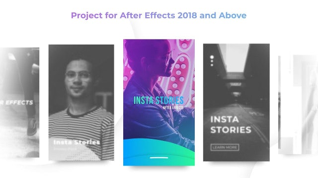 Insta Stories Pack: After Effects Templates