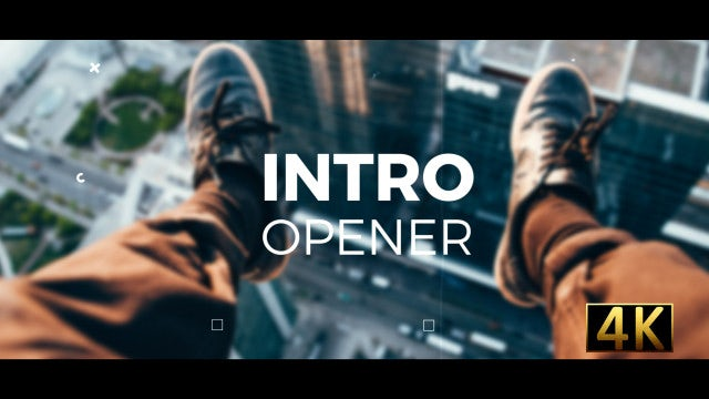 Intro Opener: After Effects Templates