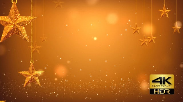Golden Stars: Stock Motion Graphics
