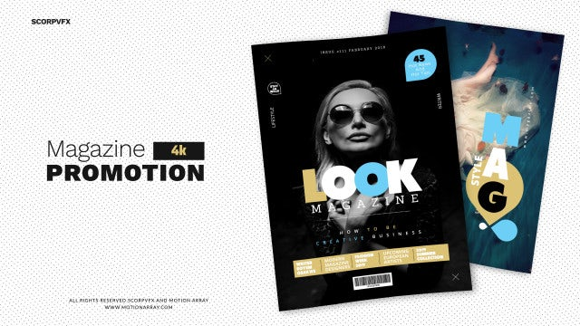 Magazine Promo: After Effects Templates