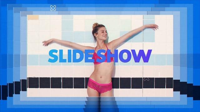 Stylish Color Slideshow: Premiere Pro Templates