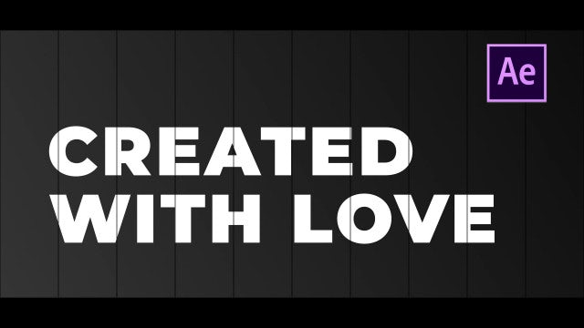Shutter - Cinematic Slideshow: After Effects Templates