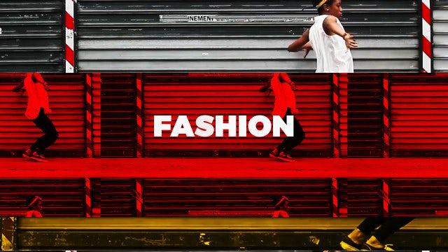 Hip Hop Fashion Opener: Premiere Pro Templates