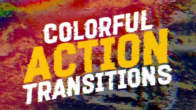 Colorful Action Transitions: Premiere Pro Presets