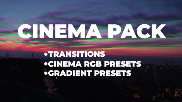 Cinema Pack: Premiere Pro Presets