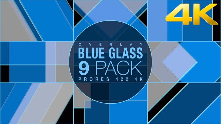 Blue Glass Collection: Stock Motion Graphics