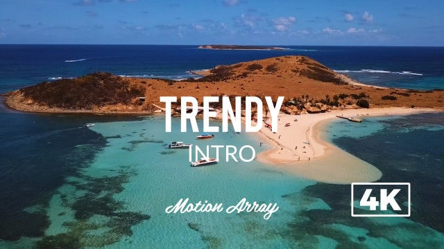 Trendy Intro: After Effects Templates