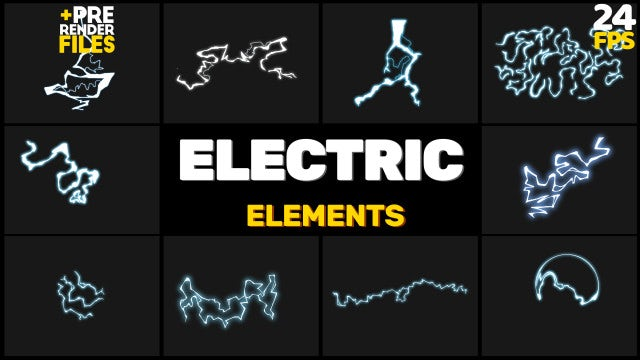 Electric Pack: Stock Motion Graphics