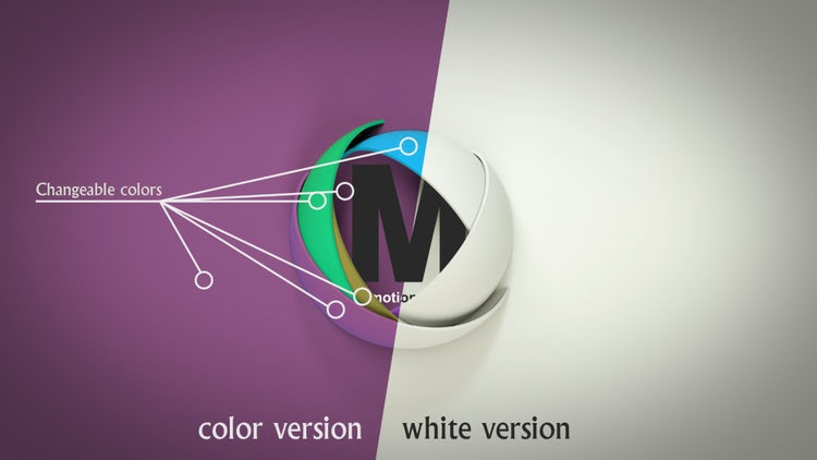 3d Logo Opener: After Effects Templates