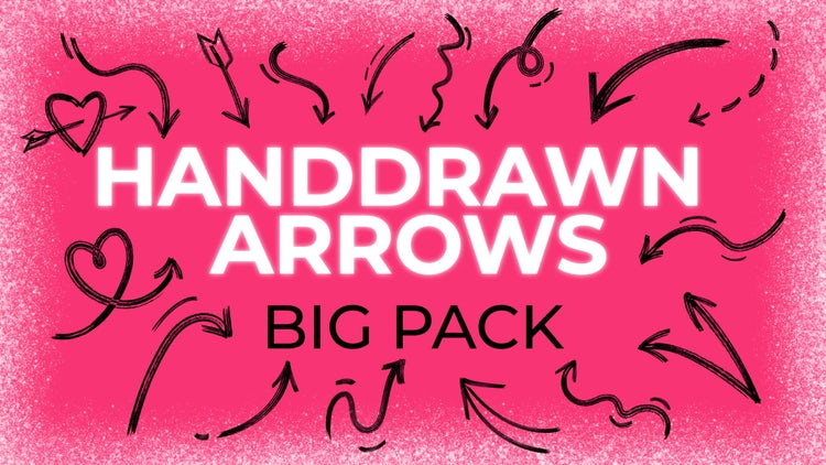 60 Animated Arrows Pack: Stock Motion Graphics