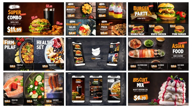Food Promo | Instagram Stories: After Effects Templates