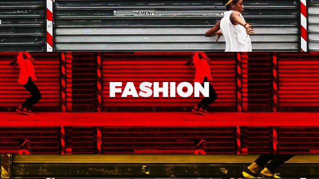 Hip Hop Fashion Opener: After Effects Templates