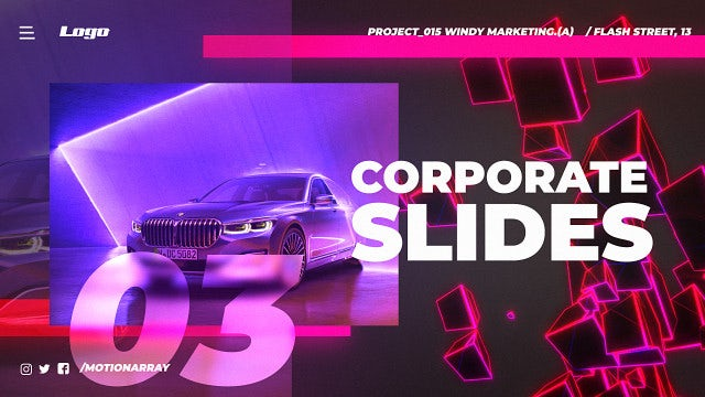 Corporate Title Slides: After Effects Templates