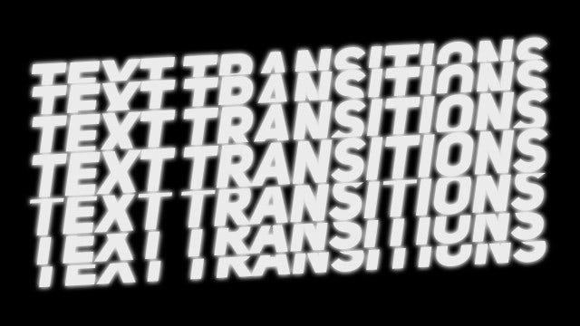 Scale Text Transitions: Premiere Pro Presets