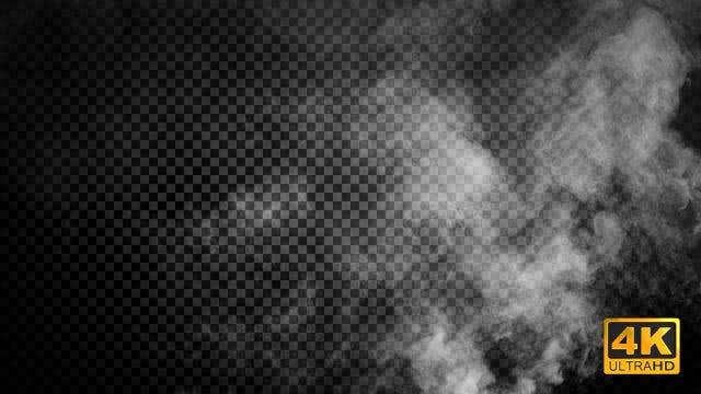 Rising Smoke: Stock Motion Graphics