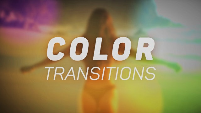 Transitions Color Presets V.1: Premiere Pro Presets