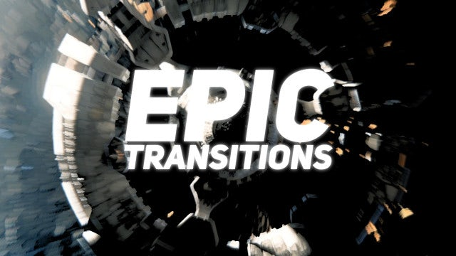 Epic Transitions: After Effects Presets