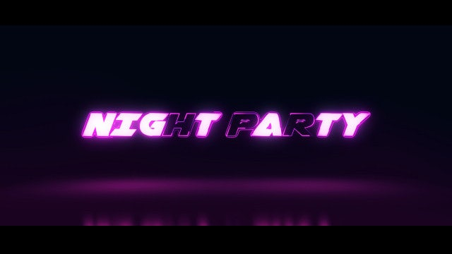 Night/Club Party Opener: After Effects Templates