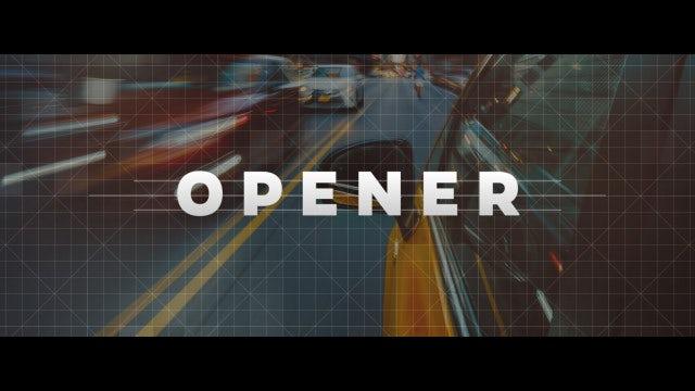 Logo Reveal - Strips Opener: Premiere Pro Templates
