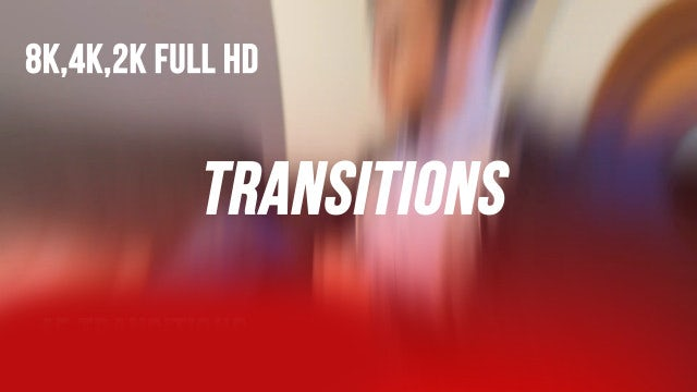 Transitions V1.0: Premiere Pro Templates