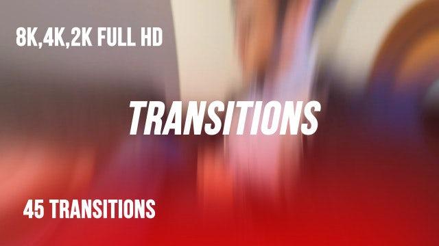 Transitions V1: Premiere Pro Presets
