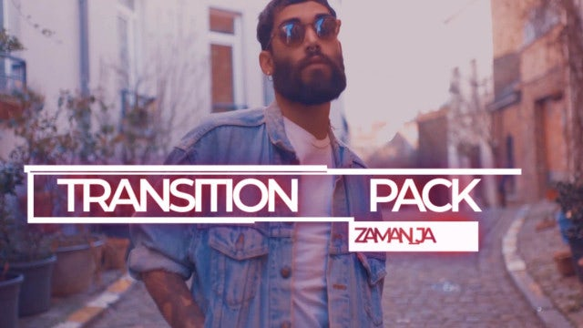 Transitions Pack: Premiere Pro Presets