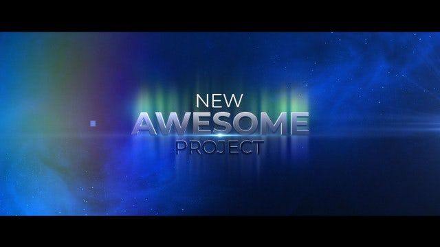 Epic Teaser Intro: After Effects Templates