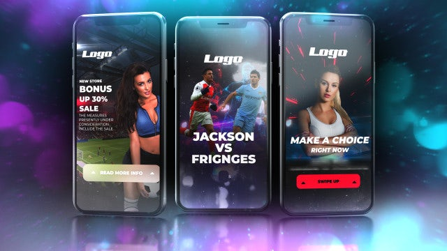 Instagram Stories Promo Pack: After Effects Templates