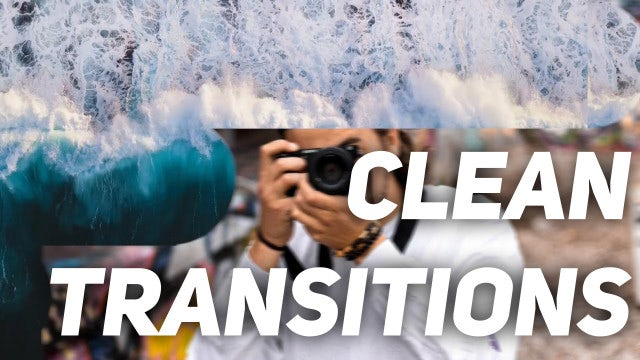 Clean Transitions: Premiere Pro Templates