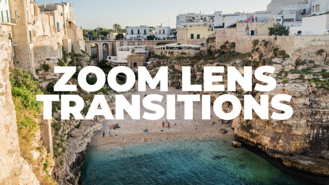 Zoom Lens Transitions: Premiere Pro Presets