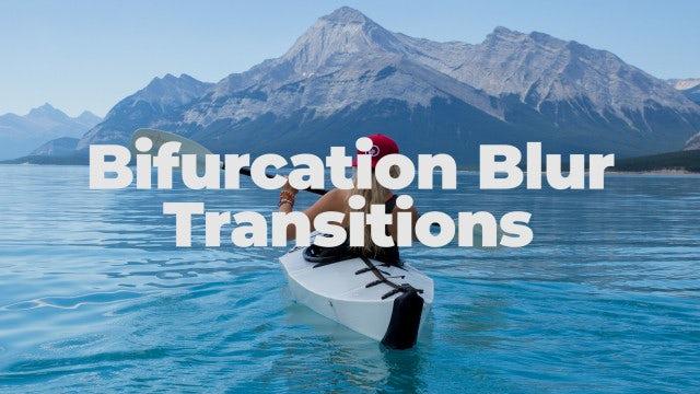 Bifurcation Blur Transitions: Premiere Pro Presets