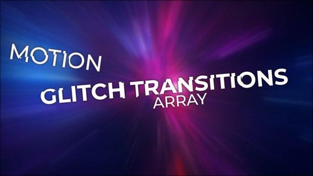 Glitch Text Transitions: Premiere Pro Presets