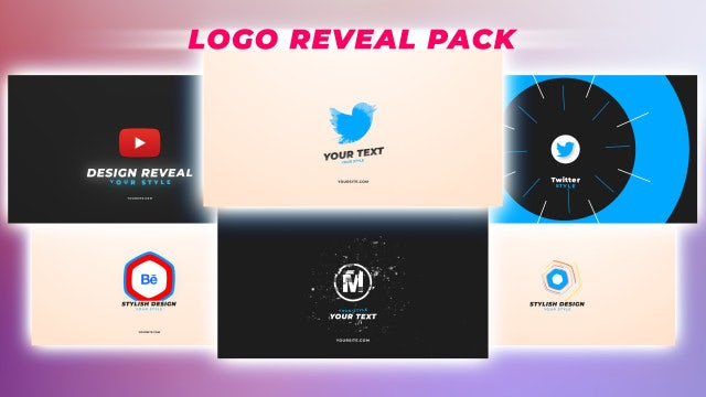 Logo Reveal Pack 4: After Effects Templates