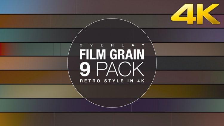 Film Grain 35MM 4K: Stock Motion Graphics