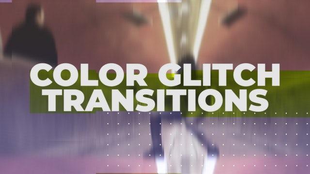 Color Glitch Transitions: Premiere Pro Presets