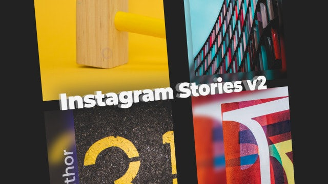 Instagram Stories V2: After Effects Templates
