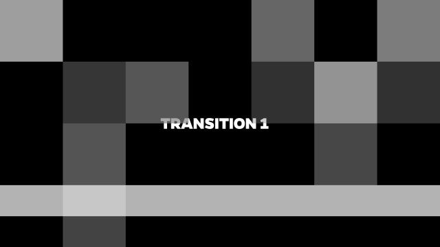 Mosaic Transitions: Stock Motion Graphics