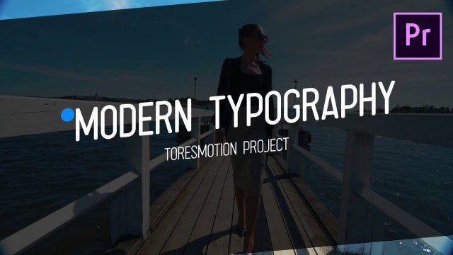 Modern Typography: Motion Graphics Templates